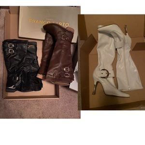 3 pairs of boots bundle